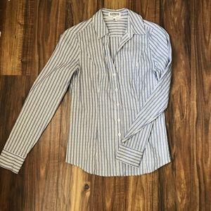 Express button down blouse